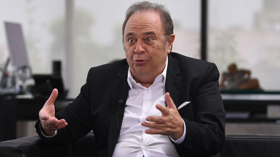 Alberto Pierri, en la entrevista con Jorge Fontevecchia.