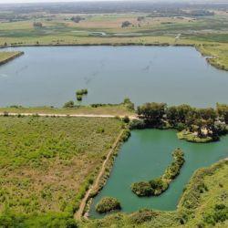 Laguna de Puerto Pilar: es un complejo de dos lagunas, unas 70 hectáreas aproximadamente.