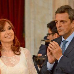 Cristina Kirchner y Sergio Massa | Foto:Pablo Cuarterolo.