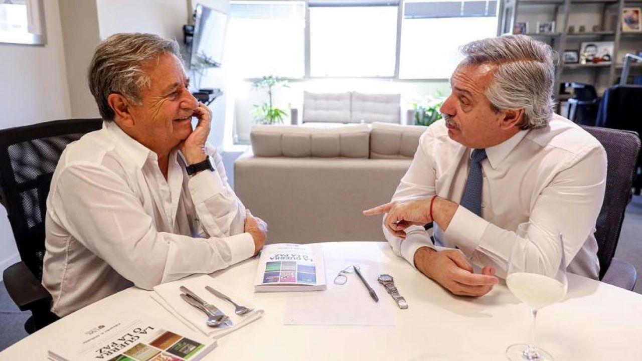 Eduardo Duhalde y Alberto Fernández | Foto:Cedoc