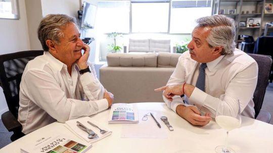 Eduardo Duhalde y Alberto Fernández