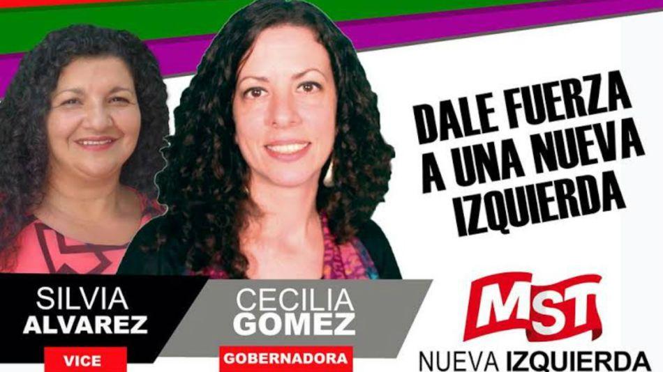 La excandidata a gobernadora de la provincia de Salta por el Movimiento Socialista de los Trabajadores (MST) en 2015, Cecilia Gómez