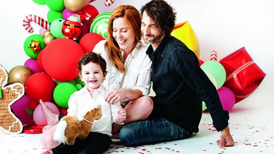 Agustina Kampfer revela cómo se llevan su hijo y su pareja, Carlos Gianella