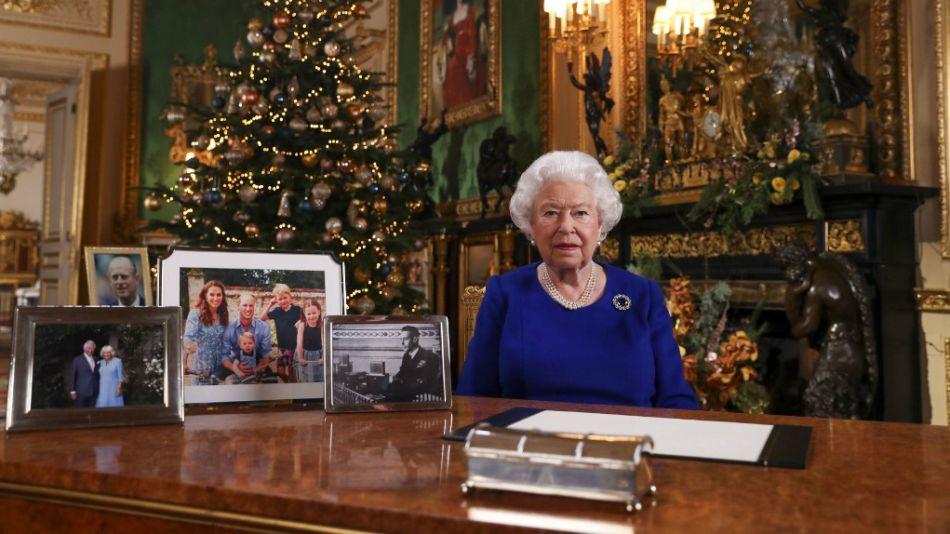 La reina Isabel II de Gran Bretaña