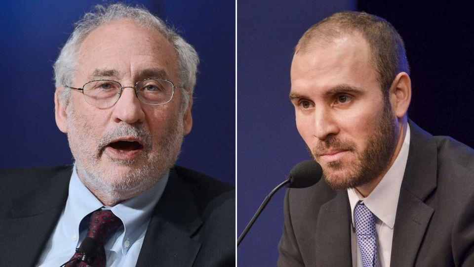 El premio Nobel de Economía, Joseph Stiglitz, dio su opinión sobre el ministro argentino Martín Guzmán.