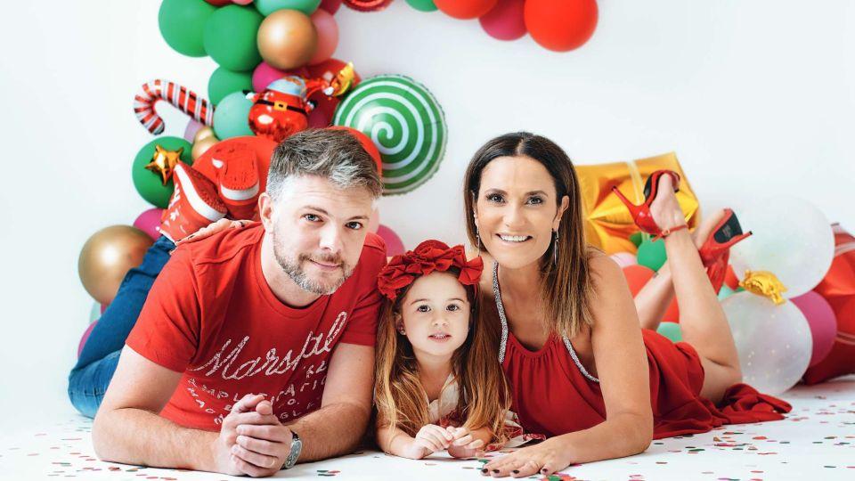 María Fernanda Callejón cuenta cómo vive las fiestas de fin de año