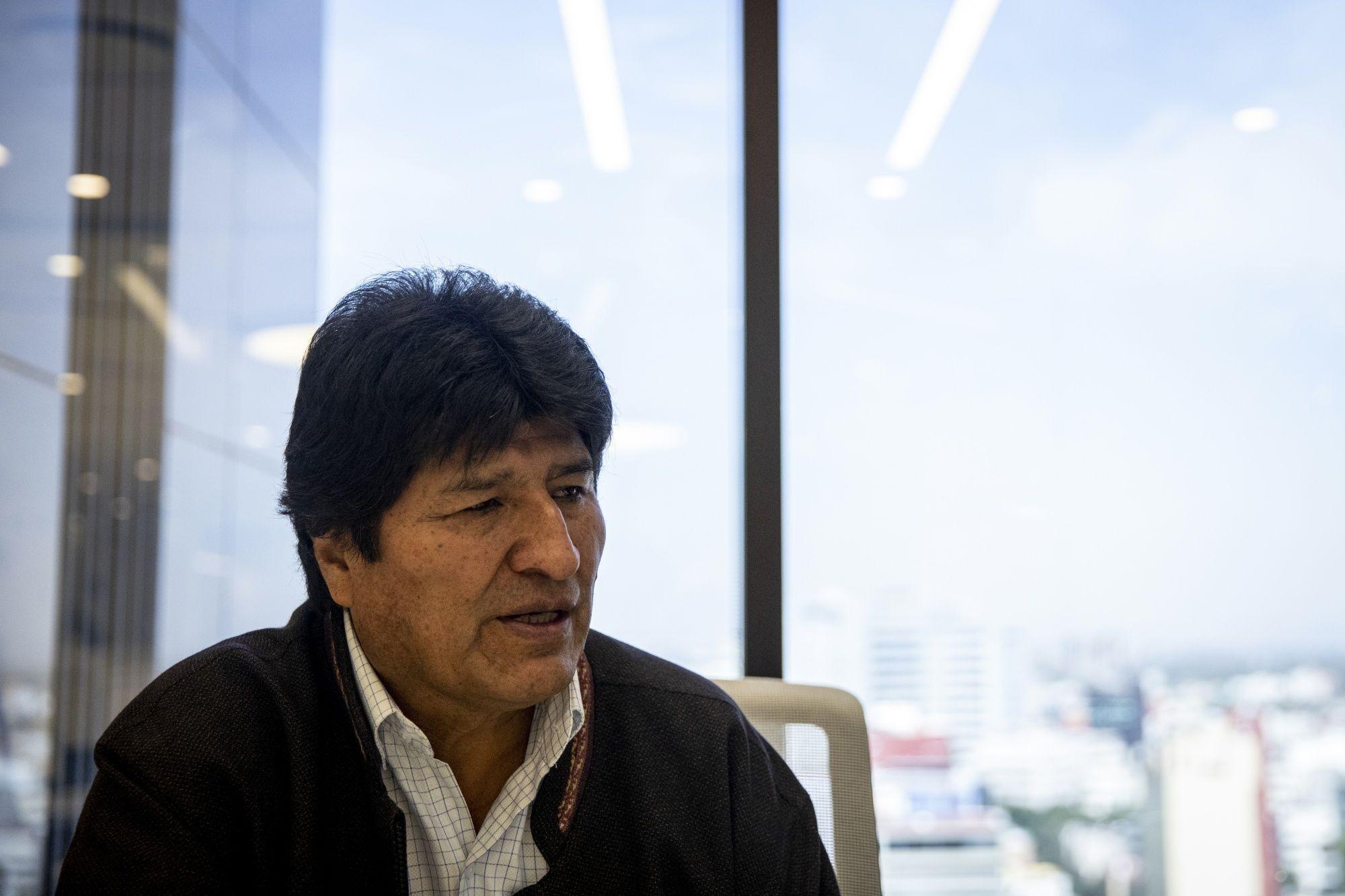 Former Bolivian President Evo Morales Interview
