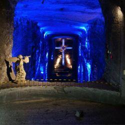 Más de 600 mil peregrinos visitan la catedral cada año. Crédito: Archivo Oficial de Catedral de Sal de Zipaquirá.
