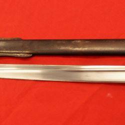 El sable otomano fue un arma combinada para el corte y el empuje.