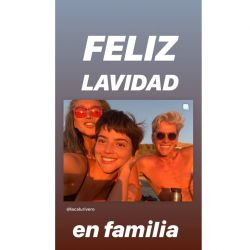 """La """"Lavidad"""" de Calu Rivero"""