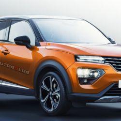 SUV Renault Kwid (fuente: Indian Autos Blog)