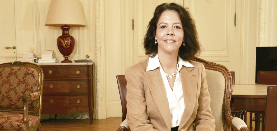 Claudia Scherer-Effose, la primera embajadora francesa en nuestro país