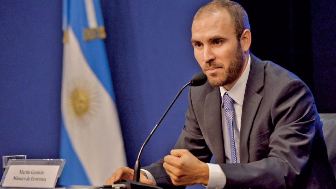 Martín Guzmán | Foto:AFP