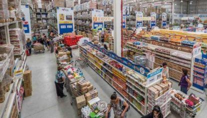 Sigue cayendo el consumo en supermercados.