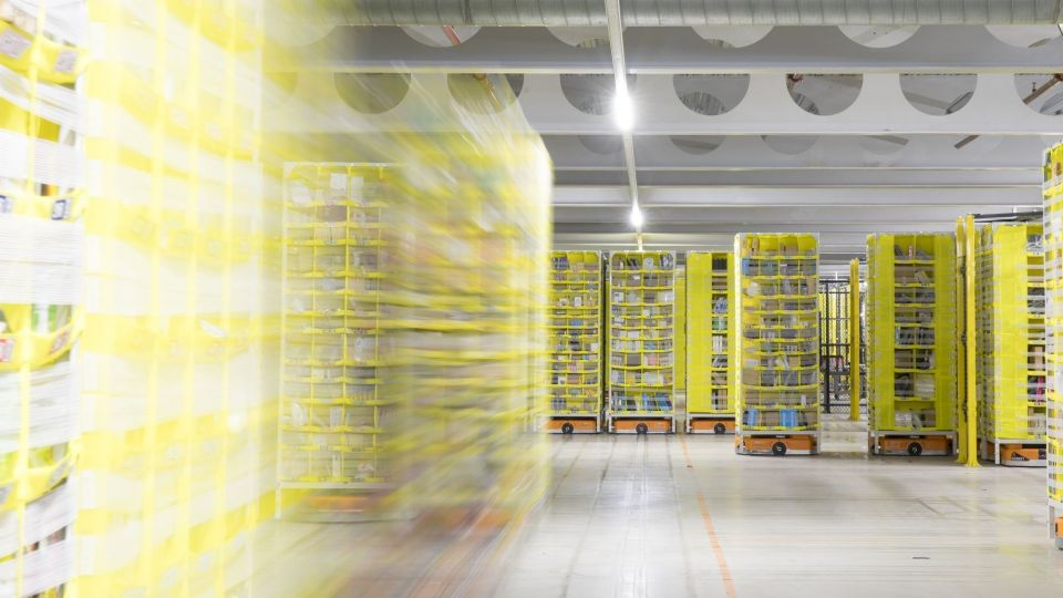 Inside An Amazon.Com Inc. Fulfillment Centre Ahead Of Prime Day