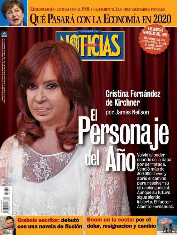 Cristina Kirchner, personaje del 2019 | Foto:Cedoc