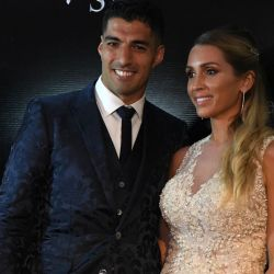 Assortment of red carpet pictures from Luis Suárez's second wedding