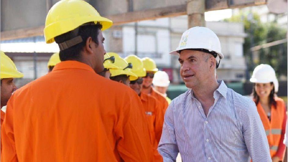Rodríguez Larreta recorre obras públicas porteñas