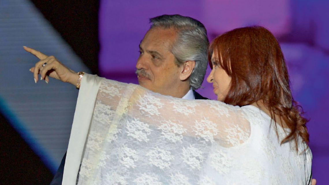 Alberto Fernández y Cristina Kirchner | Foto:Sergio Piemonte