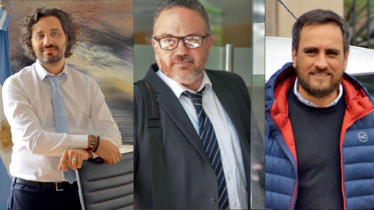 Santiago Cafiero, Matías Kulfas y Juan Cabandié | Foto:Fotos: Pablo Cuarterolo, Marcelo Escayola, Marcelo Silvestro, Sergio Piemonte y Cedoc.