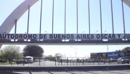 Autódromo de la Ciudad de Buenos Aires.