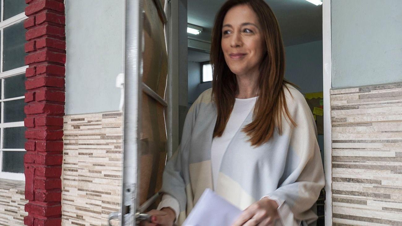 Vidal monitoreó la negociación y avaló la decisión de frenar la suba de impuestos