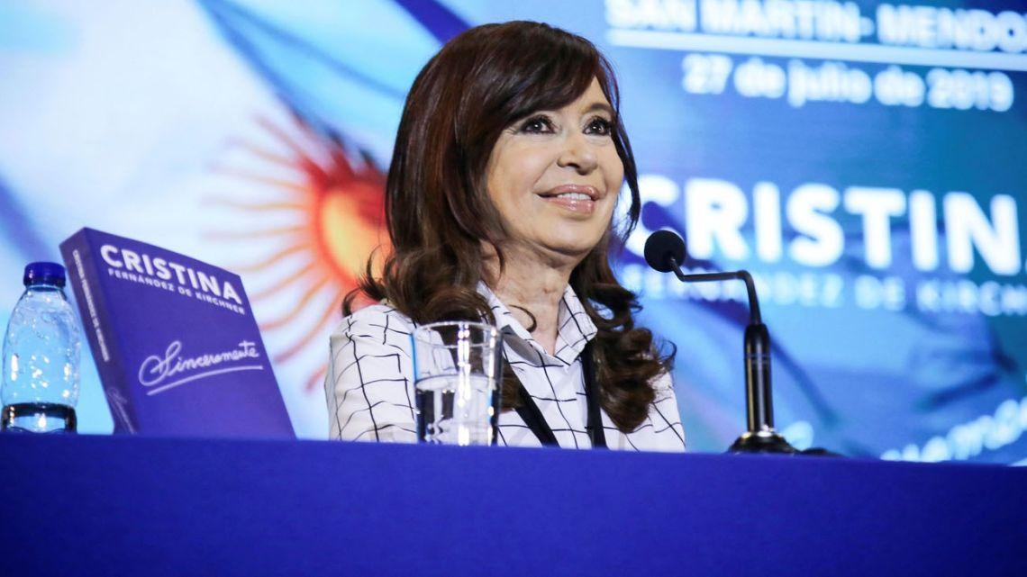 Cristina Fernandez de Kirchner.