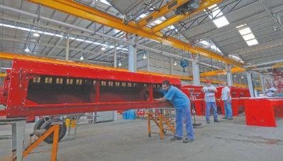 Desde la Cafma calculan que las fábricas de maquinaria agrícola tienen una capacidad instalada ociosa del 35% promedio.