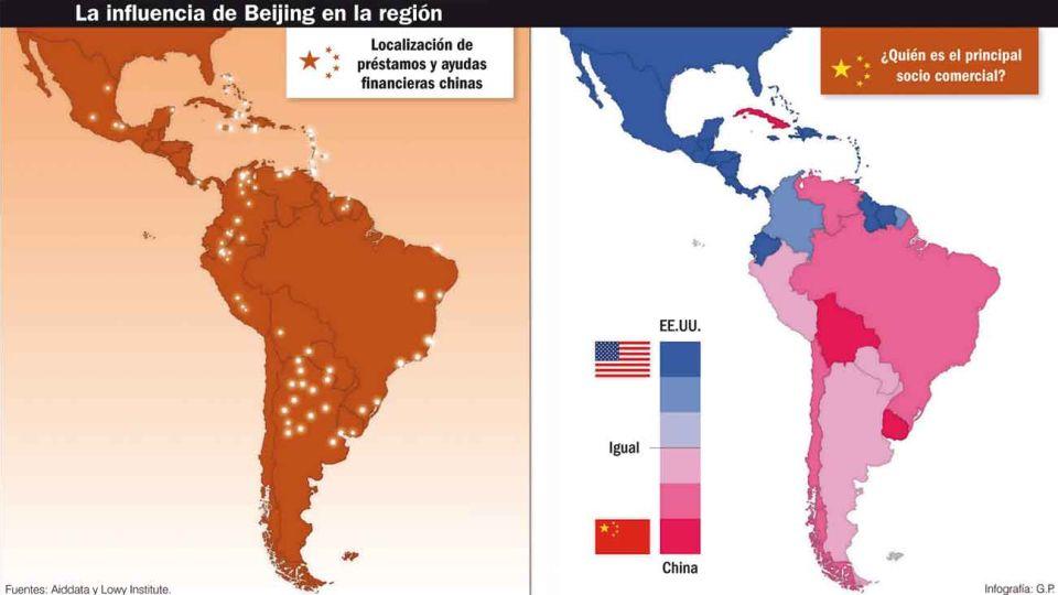 """Lider. Xi Jinping desarrolló una diplomacia económica para expandirse en la región que Washington considera su """"patio trasero""""."""