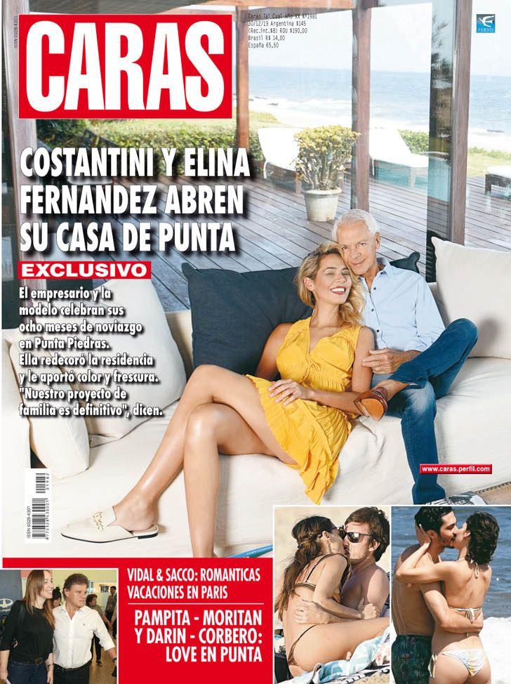 Elina Fernández y Eduardo Costantini en la Tapa de esta semana