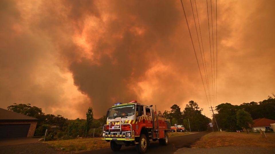 Incendios y Pirotecnia en Australia 20191230