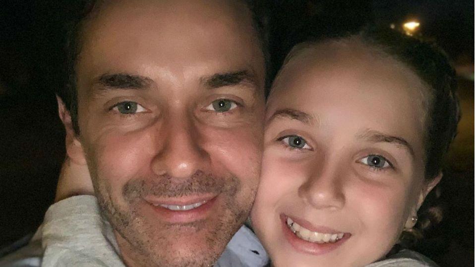 La hija de Mariano Martínez, tras los pasos de su papá