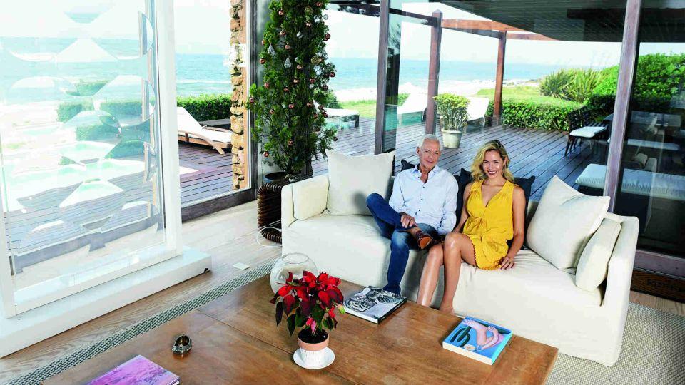 FOTOS | Eduardo Costantini y su novia abren su residencia de Punta del Este