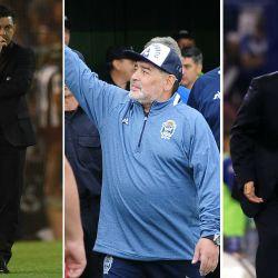 Maradona, Gallardo y Alfaro