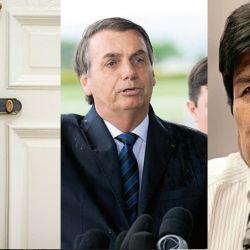 Sebastián Piñera, Jair Bolsonaro y Evo Morales | Foto:DPA