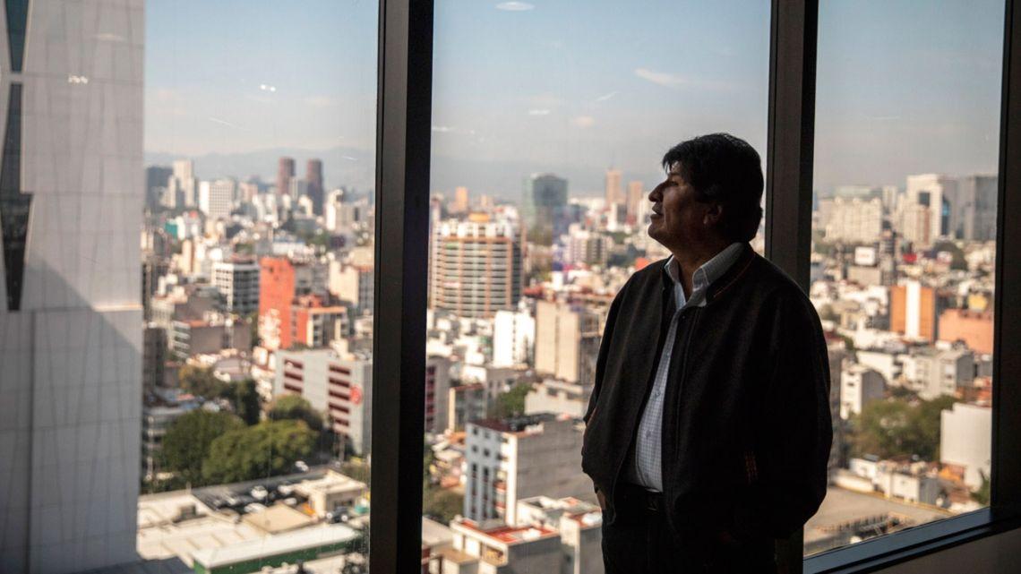 Former Bolivia president Evo Morales.