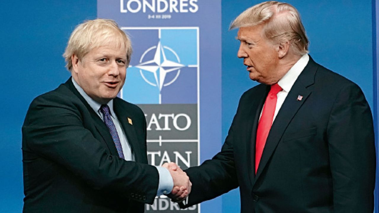 Boris Johnson y Donald Trump | Foto:DPA