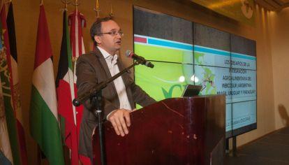 Gustavo Idígoras, presidente de la Cámara Argentina de la Industria Aceitera y del Centro de Exportadores de Cereales