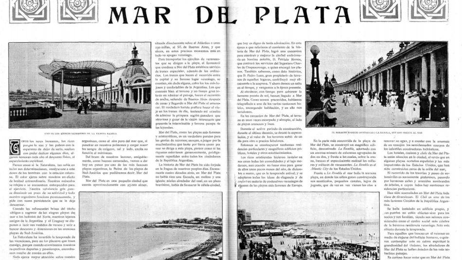 mar del plata en 1918