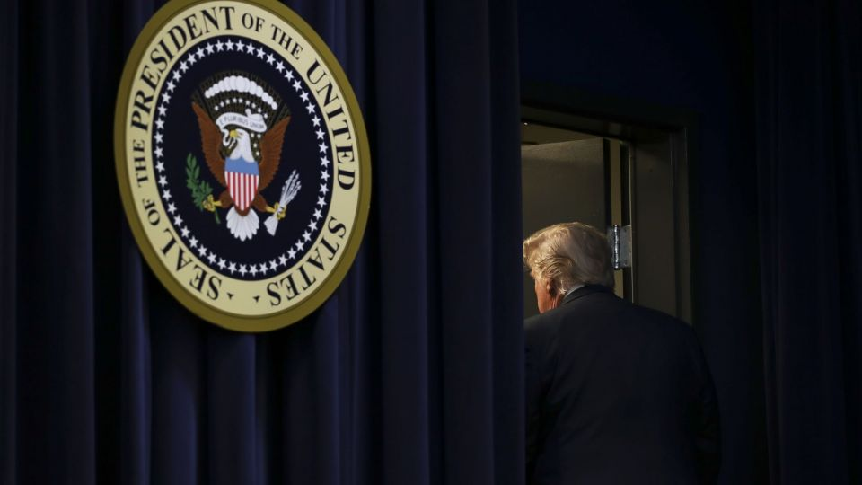 President Trump Delvers Remarks At White House Mental Health Summit