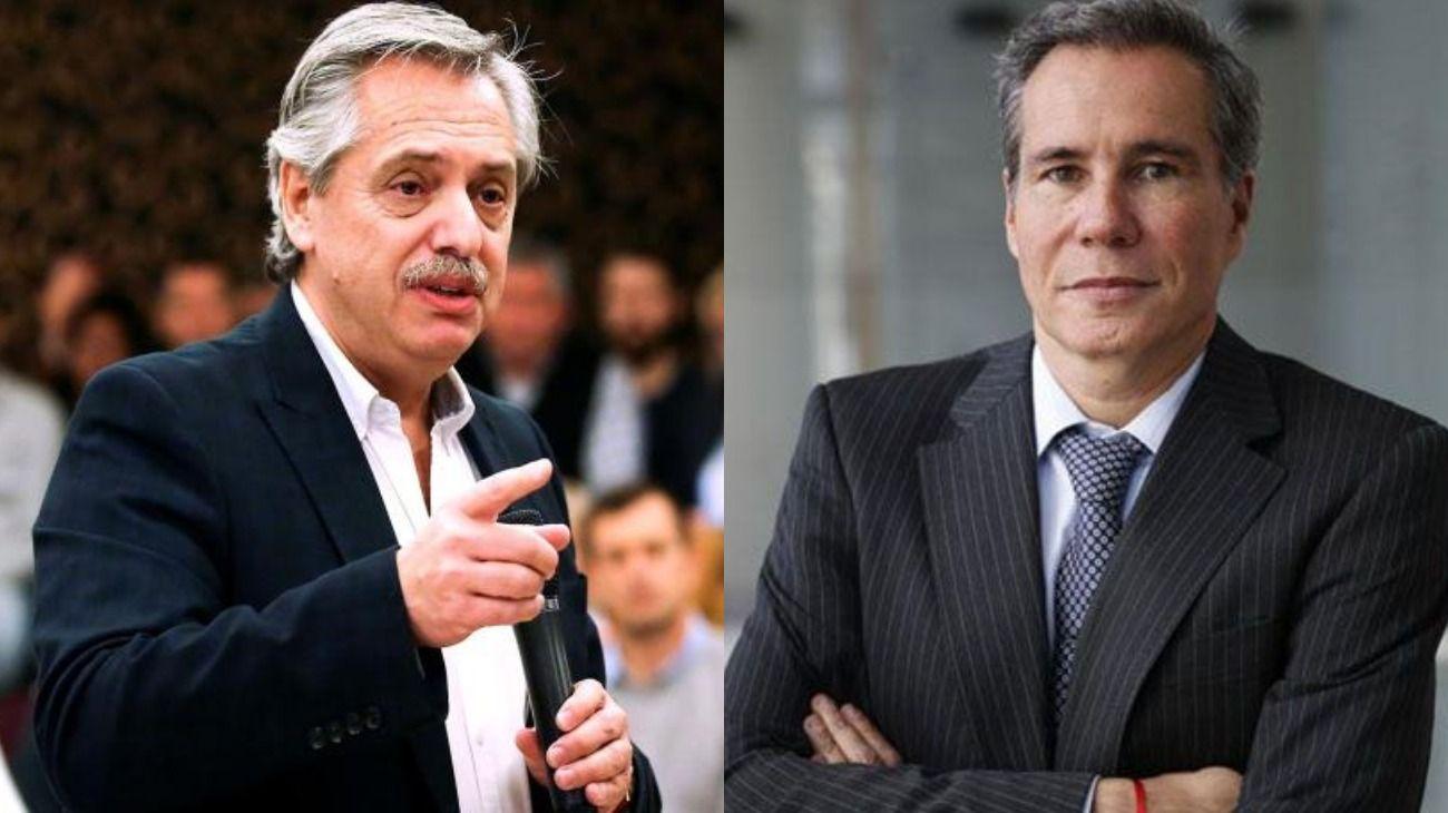 Alberto Fernández y su posición sobre la muerte de Nisman.