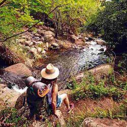 Trekking cerca de La Población.