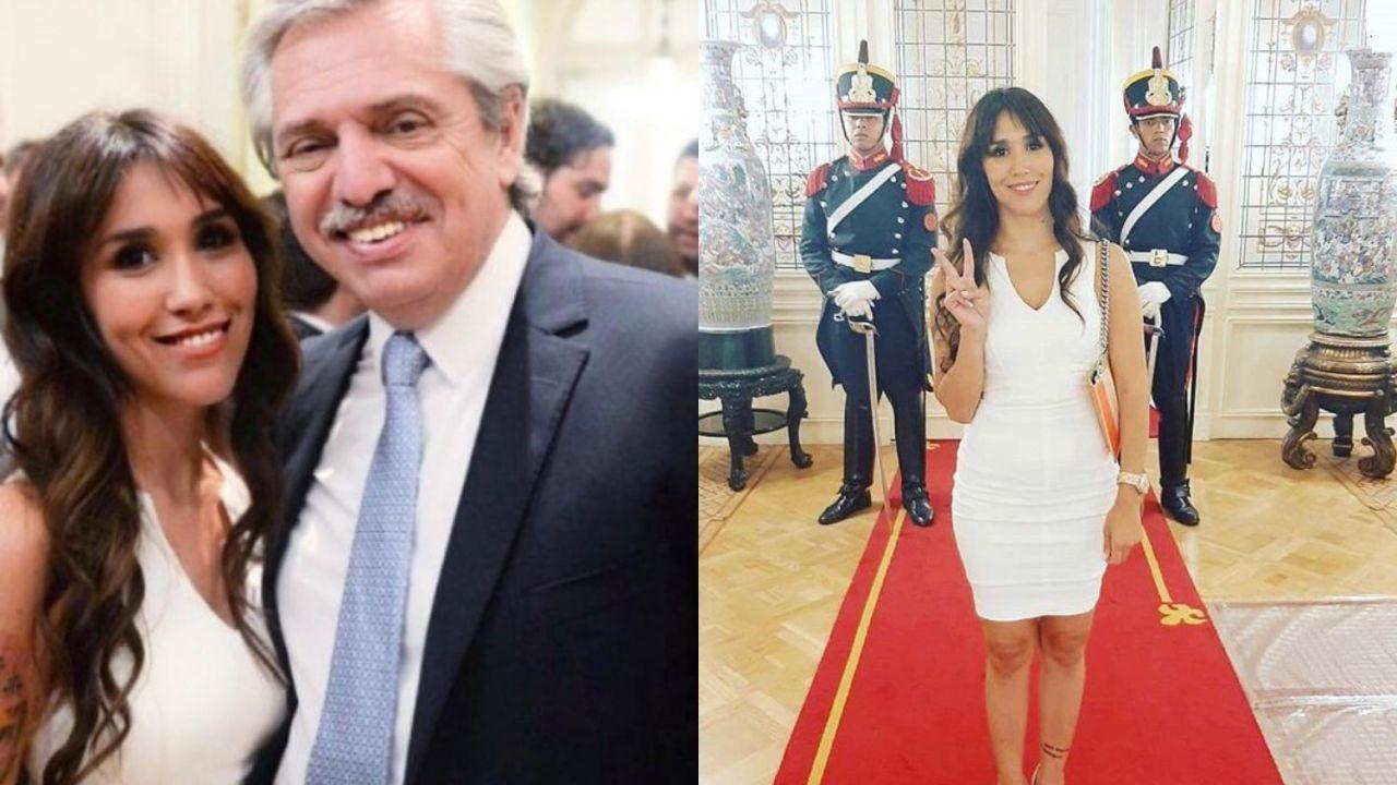 Anita Hernández con Alberto Fernández | Foto:Cedoc
