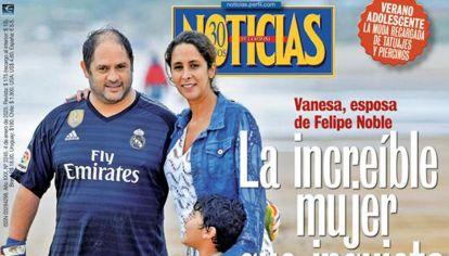 Vanesa Noble Herrera - Tapa de Noticias