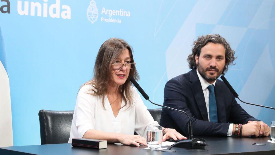 Conferencia de prensa Ministra Sabina Frederic 20200103