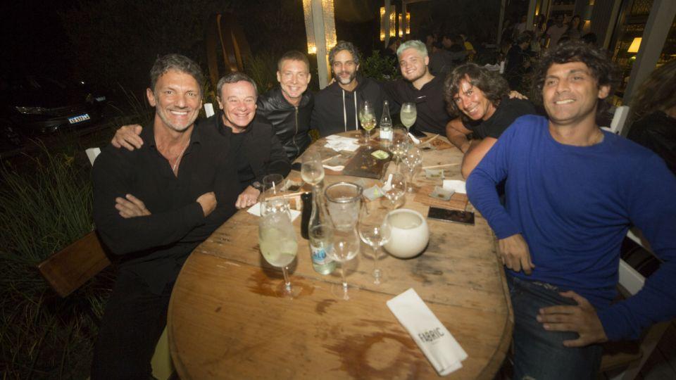 Cumbre de celebridades en la noche de Punta del Este
