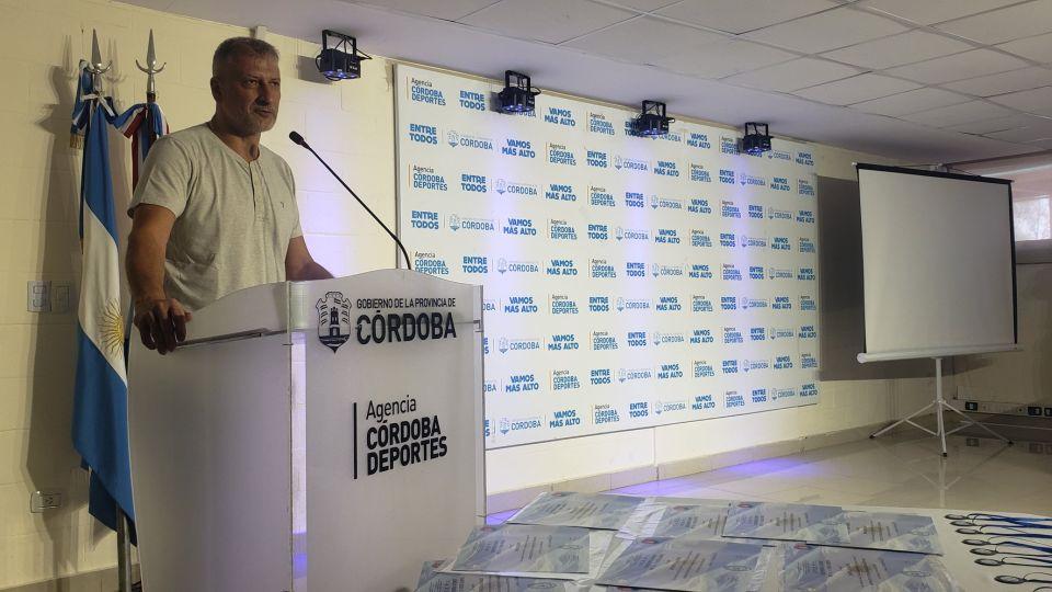 Nuevo desafío. Héctor Campana asumió la presidencia de la Agencia Córdoba Deportes luego de haberse desempeñado como vicegobernador, concejal y legislador.