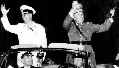 Argentina, Brasil y Chile. El 2000 fue muy diferente del que imaginaron Juan Perón y el presidente chileno Carlos Ibáñez del Campo, junto a Getúlio Vargas.