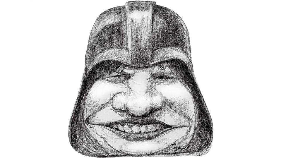 Patricia Darth Vader.