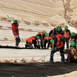 En la obra trabajan más de 1.100 personas y con una inversión de 145 millones de dólares, se proyecta que para julio de 2020 la obra estará lista. | Foto:Barrick Gold